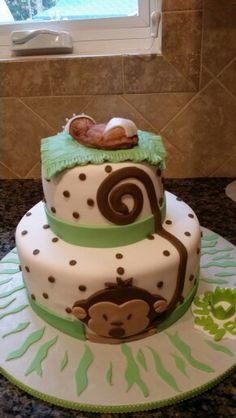 All edible Monkey Cake made by Pamela Gonzalez, if you need a specialty cake call me at 609-226-3423, thanks. :)
