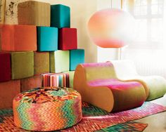 missoni home - they have my chairs!