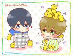 |Free!| Haru and Makoto