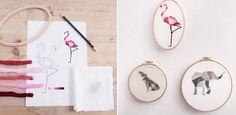 Sticken lernen: So einfach zaubert ihr kleine Kunstwerke
