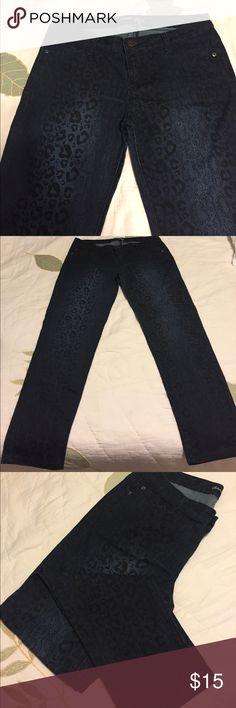 Pants Blue snake pattern jeans... new Celebrity Pink Jeans Skinny