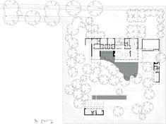 Architecture, Site Plan Rustic Modern Atherton Residence Design Surrounded By Ponds And Garden Ideas ~ Atherton Residence Located in California Butterfly Roof, Prefab Homes, House And Home Magazine, Sliding Glass Door, Maine House, Outdoor Rooms, Outdoor Living, Modern House Design, House Floor Plans