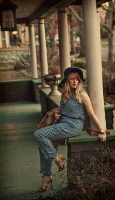 """So You Want to Look Like Jessa Johansson? Style Inspiration from HBO's """"Girls"""" Jessa Girls, S Girls, Dungarees, Overalls, Jessa Johansson, Indigo, Girl Fashion, That Look, Jumpsuit"""