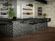 """""""Mallas Tour Black & Grey"""" #pisos #baños #griferia #regaderas #tinas #recubrimientos #arquitectura #diseño #design #architecture #espacios #hogar #home #wood #likewood"""