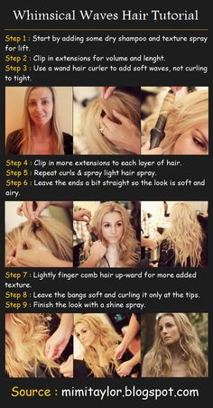 tutorial | Whimsical Waves Hair Tutorial | Pinterest Tutorials