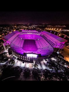 Death Valley at night! GEAUX TIGERS!