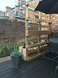 Homemade Pallet Trellis Privacy Garden Screen Holkham