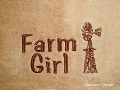 My new Farm Girls towels! Very cute.