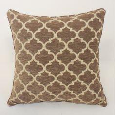 Essential Sandglass Chenille Geometric Toss Polyester Throw Pillow & Reviews | Wayfair