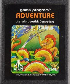"The original Atari featured a wealth of games with box art that was quite a bit more imaginative than the ""grizzled man holding a gun"" template that's so popular today. The concept of playing a video game in your house, on your television, was still in its infancy in the late 1970s, and Atari needed a way to market its game"