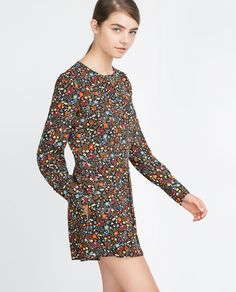 Image 2 of JUMPSUIT WITH PRINTED BACK from Zara