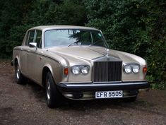 1965 - 1980 ~ Rolls-Royce ~ Silver Shadow ~ A luxury car that was produced in Great Britain in various forms from 1965 to 1980