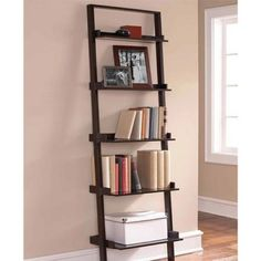 Looks like a Leaning Ladder? Check this amazing #5tier #Shelf #Bookcase and more at http://stores.ebay.com/goldengloveproducts/Furniture-/_i.html?_fsub=13726816016&_dmd=2&_nkw=bookcase