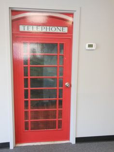 Here at our studio we brought London to us. Need to make a phone call?