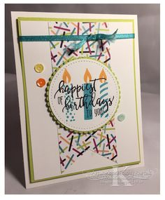 "Faithful INKspirations: Fun and Easy Picture Perfect Birthday is made with Stampin' Up's ""Picture Perfect Birthday"" stamp set."