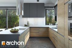 Kitchen Interior, Home Interior Design, Kitchen Decor, Modern Kitchen Design, Modern Decor, Kitchen Cabinets, House Design, Inspiration, Home Decor