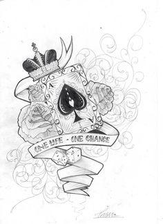 Tyd om my skouer tattoo klaar te maak.