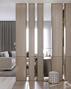 divisorio Astonishing partition design ideas for living room 38 Luxury Interior Design, Luxury Home Decor, Home Interior, Interior Architecture, Contemporary Interior, Living Room Modern, Living Room Designs, Luxury Apartments, Luxury Homes