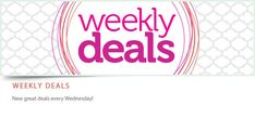 Weekly Deals by Stampin' Up! Shop online at www.dawnfergie.stampinup.net or contact me via the site.