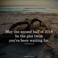 May The Second Half Of 2018 Be The Plot Twist - https://themindsjournal.com/may-the-second-half-of-2018-be-the-plot-twist/
