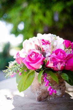 Pink Rose Arrangement in Wooden Box