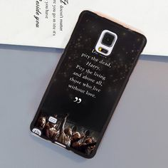 >> Click to Buy << Harry Potter Quote Style Soft Rubber Skin Mobile Phone Cases For Samsung S4 S5 S6 S7 edge plus Note 2 Note 3 Note 4 Note 5 Cover #Affiliate
