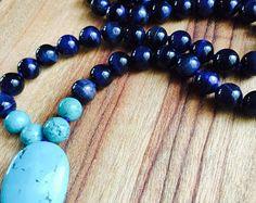 Mala Beads Yoga Jewels Bohemian & Intentional by BlessedMalaBeads