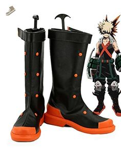 My Hero Academia Katsuki Bakugo Cosplay Shoes Boots Custom Made - Telacos sneakers for women (*Amazon Partner-Link)
