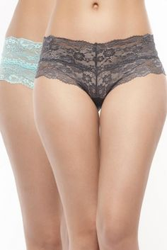 Penny Lace Embrace Floral Low Rise Hipster Brief from Zivame