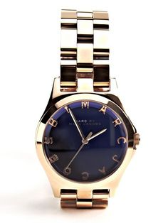 Ladies Henry Blue Watch By Marc Jacobs