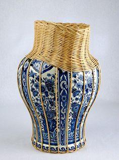 Centerpiece by StudioDaniel on Etsy, €589.00.  Stunning use of traditional Dutch craftmanship.
