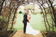 Bride in Danni Made With Love Bridal Wedding Dress and Groom in Reiss Suit Kissing Fall Wedding Bouquets, Fall Wedding Flowers, Bridal Wedding Dresses, Autumn Wedding, Summer Wedding, Wedding Film, Wedding Bride, Boho Wedding, Wedding Venues