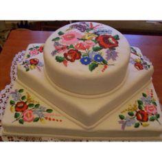 Hungarian folklor decorated cake http://ediblecraftsonline.com/ebook2/mybooks73.htm?hop=megairmone