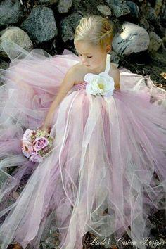 Wow,stunning flower girl dress