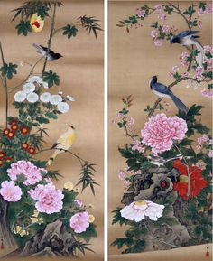 Birds and Flowers - Ichiga Oki — Google Arts & Culture