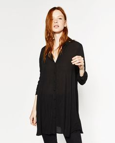 Image 2 of SHIRT DRESS from Zara