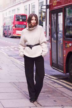 belted knit  | HarperandHarley