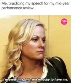 MBAchic - navigating the MBA, careers, style and Best Work Pants, Leslie Knope, Living Under A Rock, Up For The Challenge, Under Dress, Parks And Recreation, Hilarious, Funny, Yolo