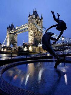 I stood exactly there!  London.