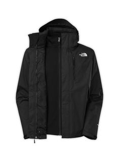 The North Face Men's Jackets & Vests 3-IN-1 Jackets Men's Canyonwall TRICLIMATE® Jacket