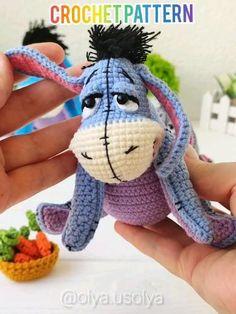 Crochet Animal Patterns, Crochet Doll Pattern, Stuffed Animal Patterns, Crochet Patterns Amigurumi, Amigurumi Doll, Crochet Yarn, Circular Weaving, Crochet Disney, Winnie