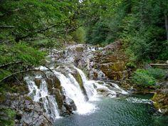 Opal creek in Oregon