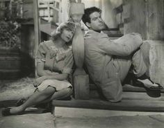 "Carole Lombard and Fred MacMurray in ""Swing High, Swing Low"" (1937)"