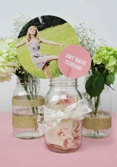 Grad Party Centerpieces on Pinterest