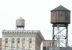 Rooftop Water Tanks in New York City