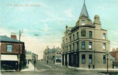 Whetstone Lane, Birkenhead the old firestation to the right