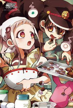 Credit to the artist, who posted this, the people who animate Toilet Bound Hanako-kun, and you! - Shounen And Trend Manga Otaku Anime, Manga Anime, Anime Amor, Me Anime, Anime Kawaii, Anime Guys, Manga Art, Anime Angel, Totoro