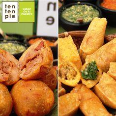 Empanaditas o Marranitas ¿Cuál te gusta más? 😋😍💖 #ComidaVallecaucana #CocinaVallecaucana #Cocinacali