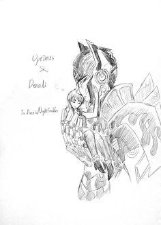 funny TF4 drift  | request Optimus x Denali by Autumn123Charlotte