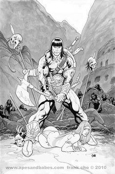Conan by Frank Cho